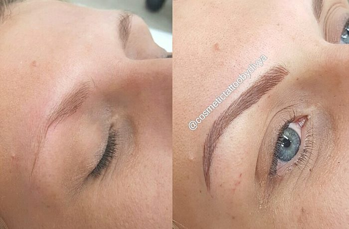 feather touch brows
